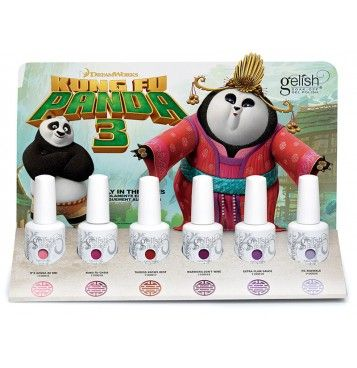 """Gelish Kung Fu Panda Collection + 2 FREE FILES 