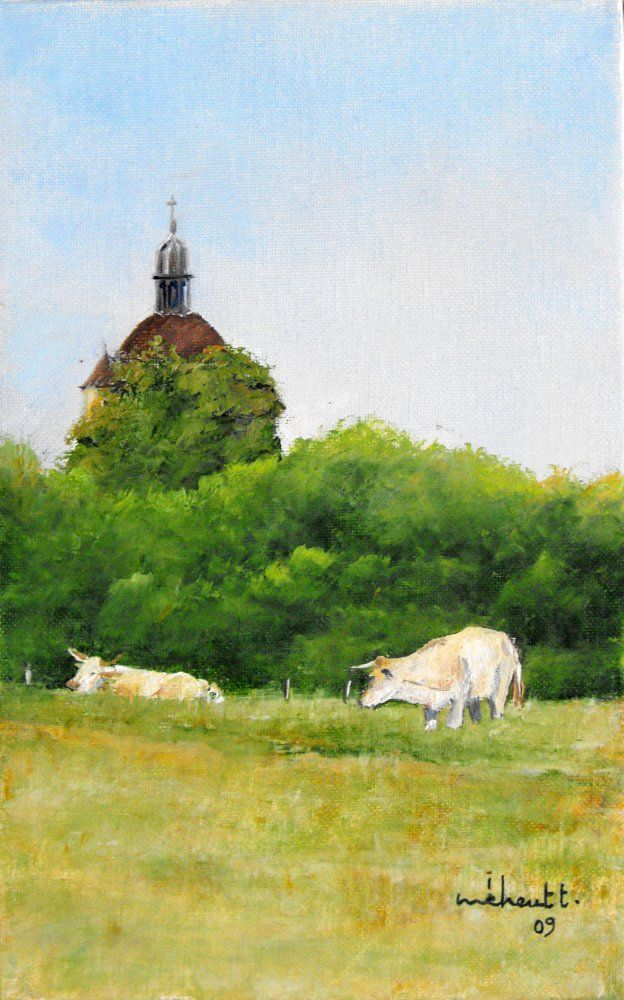 Galerie de Thierry Meheut - Artiste peintre jurassien - Environs d'Orgelet