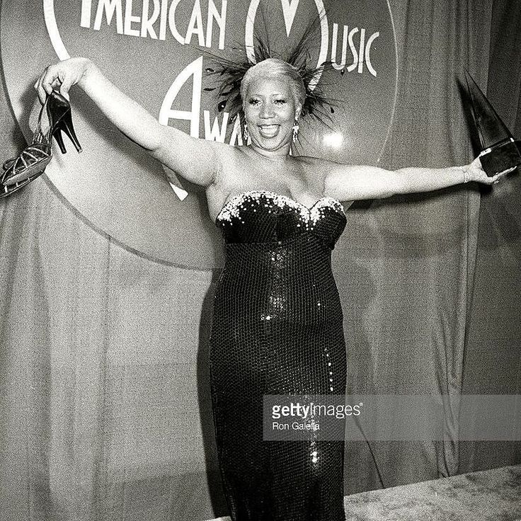 """Don't say #Aretha is making a comeback because I've never been away!"" - Aretha Franklin. More from the #amas #ama #amaawards #1980s #80s  Here's a nice backstage #photo  of singer #ArethaFranklin after winning Favorite #Soul/#R&B #Album for #Jumptoit at the 10th Annual American Music Awards on January 17 1983 in Los Angeles CA  #TheQueenOfSoul #rythmandblues #legend #souldiva #diva #respect #chainoffools #daydreaming #35mm #paparazzi #bnw #celebsighting #bnw #famous…"