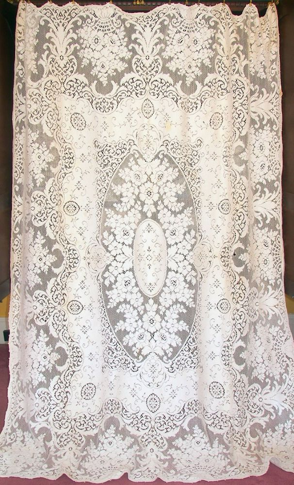 the antiques panels york centre cream img of curtains and victoria inches cotton x antique lace curtain heritage shop fabric pair design vintage