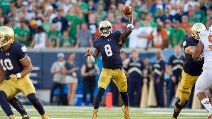 Sept.5 2015 - #8 Malik Zaire throws for 313 yards, Notre Dame beats Texas 38-3 :: Notre Dame Football :: UND.COM :: The Official Site of Notre Dame Athletics