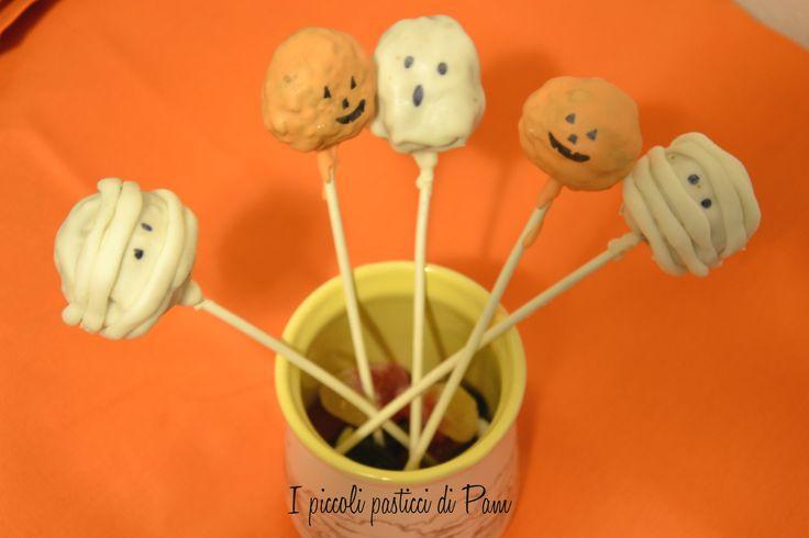 Cake pops mostruosi per halloween – ricetta halloween