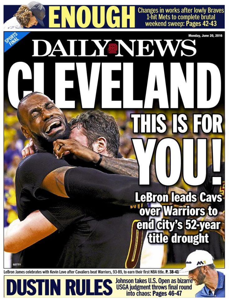 Celebrities react to Cleveland Cavaliers winning NBA Championship ...