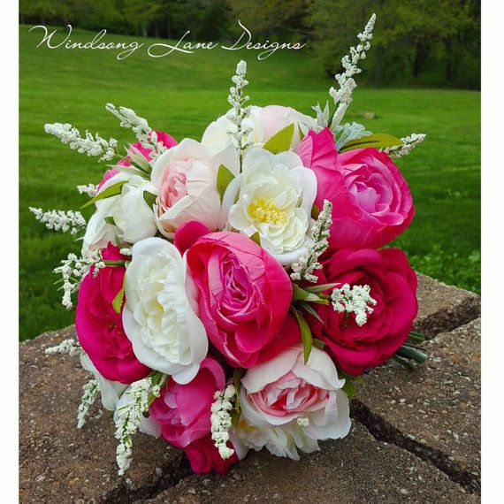 silk wedding bouquets for sale 9 best etsy listings images on small 7420