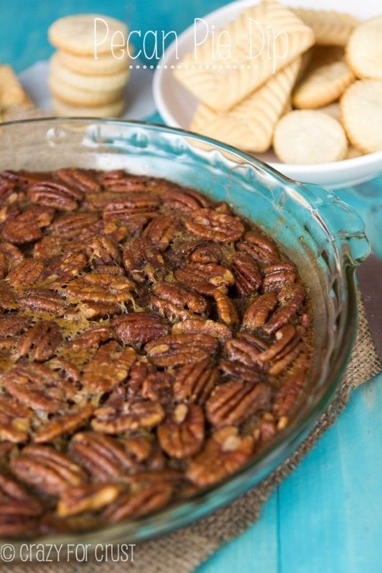 Pecan Pie Dip | crazyforcrust.com