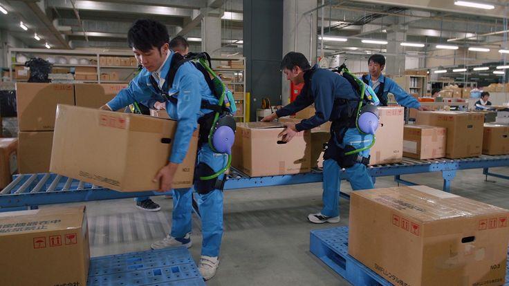 Panasonic muestra cómo sus trajes robóticos aliviar su carga