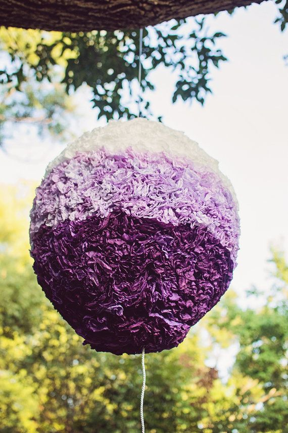 Ombre Pinata/ Gender Party Reveal/ Baby Shower Decoration/ Nursery Decor by TheMerryPopShop, $184.00