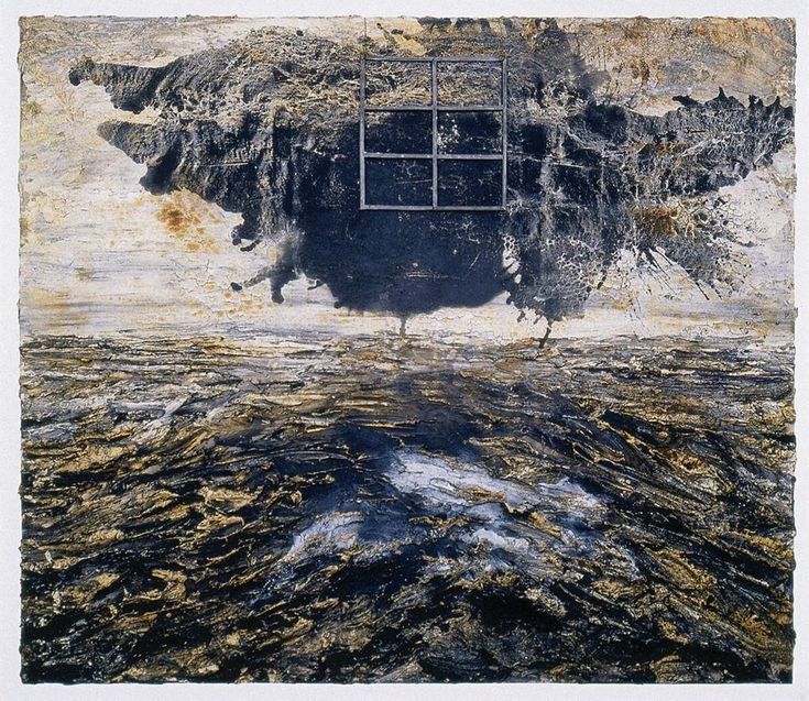 """Aschenblume"" By Anselm Kiefer. No one can express memory like Kiefer. He is brilliant."