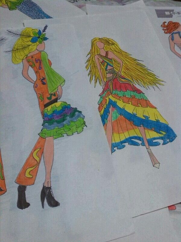 Fashion design by Ikargio designer from Colombia