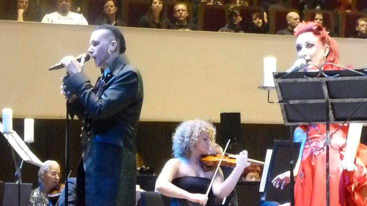 """Blutengel """" Soultaker """" @ Gothic meets Klassik /Gewandhaus Leipzig 11.11..."""