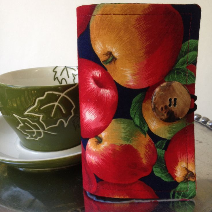 A personal favorite from my Etsy shop https://www.etsy.com/listing/490131491/tea-wallet-apple-tea-wallet-teachers-tea