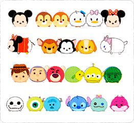 Rush Deco Decoration Tape TSUM Disney Characters