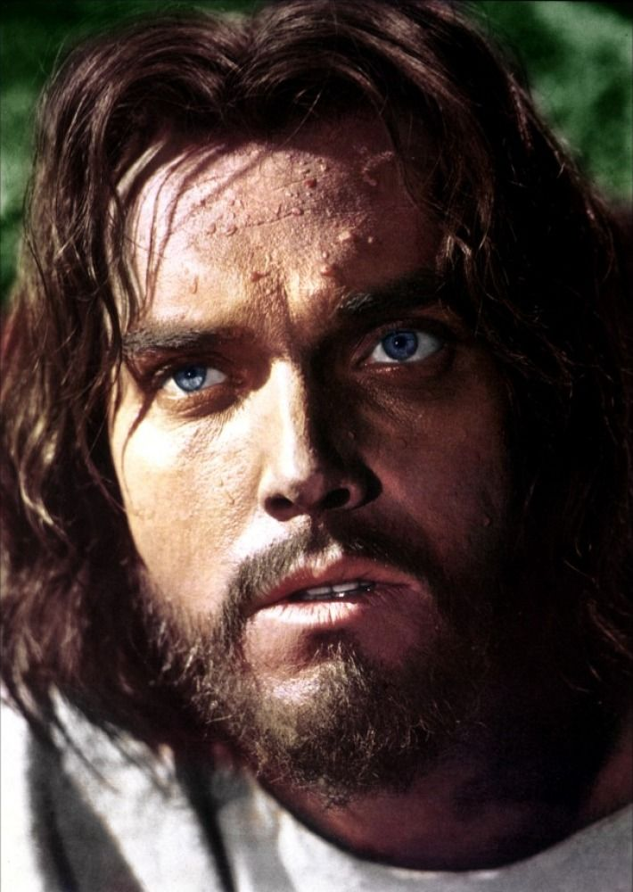 Jeffrey Hunter. King of Kings, The Searchers. Those eyes..