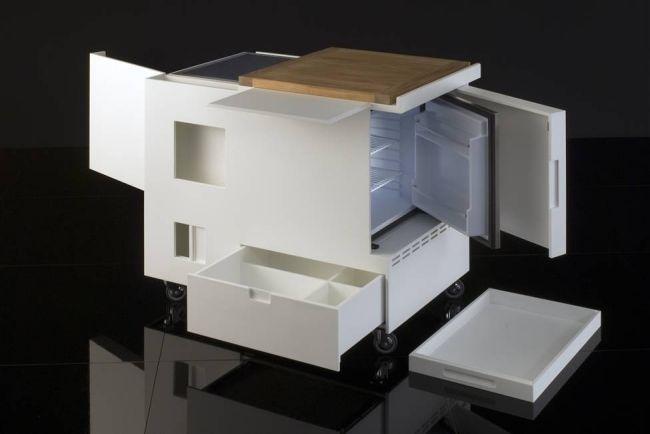 Kompakte Küche-Joe Colombo-boffi minikitchen-Design
