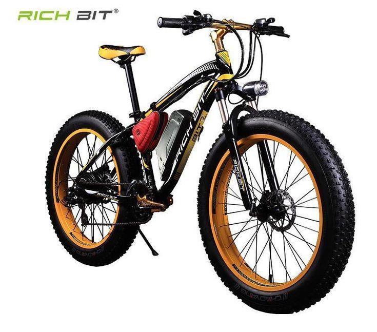Electric Bike Powerful Fat Tire Electric Mountain Bike 48V 17AH 1000W