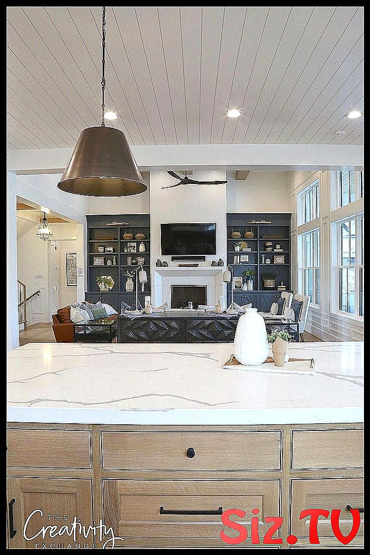 Modern Farmhouse Open Kitchen Design Built In Boo Bea Beadboard Beadboard Ceiling Renov Accent Walls In Living Room Kitchen Design Open Accent Wall Bedroom