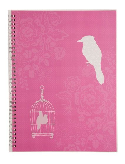 Sharing WHSmith Birdcage A4 Notebook from WHSMITH