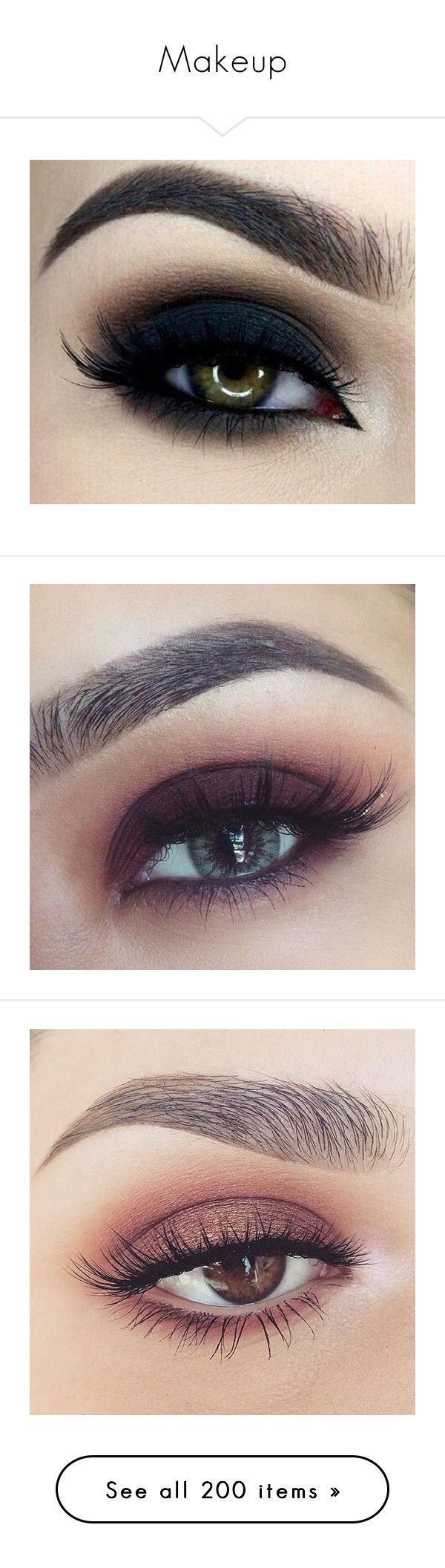 """""""Makeup"""" by fashionista5591 ❤️ liked on Polyvore featuring pictures, beauty products, makeup, eye makeup, eyes, eyeliner, beauty, make, filler and liquid eye-liner"""
