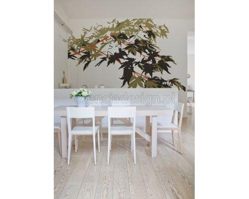 Klasyczne liście wprowadzą do Twojego domu spokój i ciszę. Designerskie tapety http://esencjadesign.pl/wall-deco-big-brand-11/571-winter-camou.html