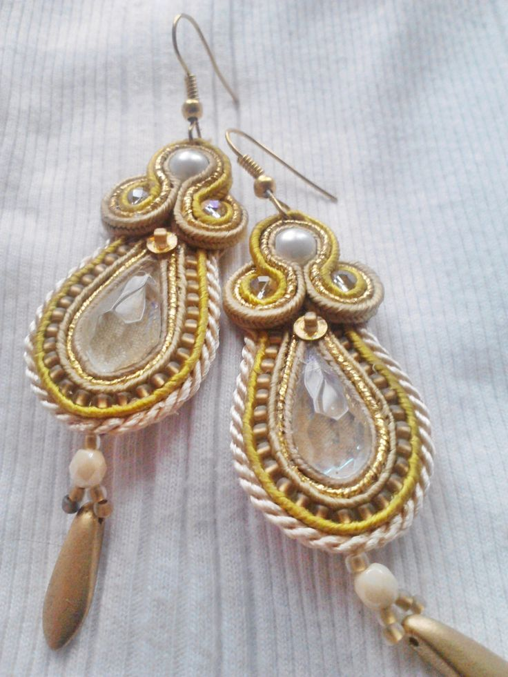crystal and soutache