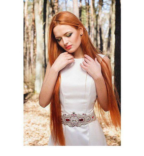 Sutažnyj cintura nozze abito sposa matrimonio accessorio cintura Soutache Soutache vestito cintura fusciacca sposa Sash Abito da sposa