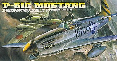 North American P-51C Mustang. Academy, 1/72, injection, No.12441. Price: 6,53 GBP.