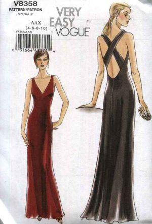Best 25+ Evening dress patterns ideas on Pinterest   Vintage ...