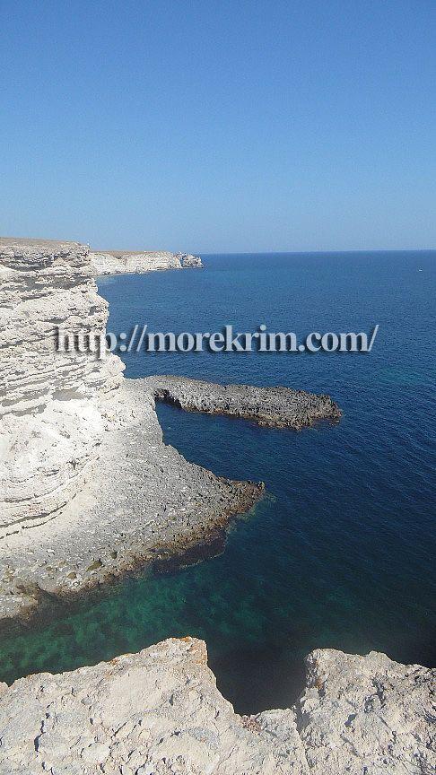западное побережье Крыма недалеко от мыса Тарханкут
