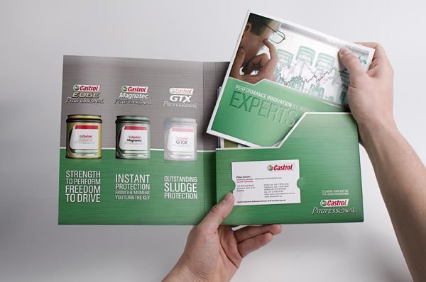 Castrol Professional Trade Presenter by Richard Sison, via Behance