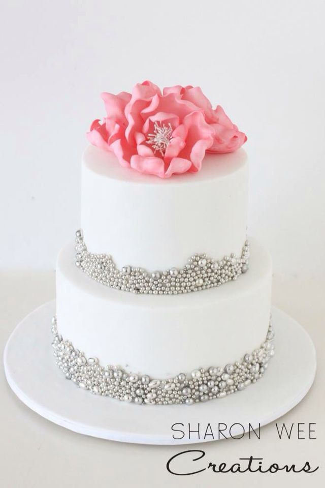 45 Best Two Tier Cake Ideas Images On Pinterest Double Barrel Cake