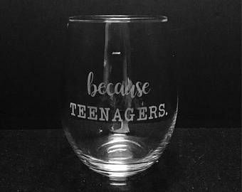 Custom personalized etched glassware by ExpressionsGlassware
