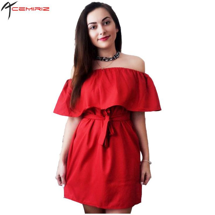 #aliexpress, #fashion, #outfit, #apparel, #shoes #aliexpress, #Ruffles, #Slash, #Women, #Dress, #Summer, #Style, #Shoulder, #Vestidos, #Solid, #Dresses, #Loose, #Beach, #Dress, #Cotton, #AWD0086