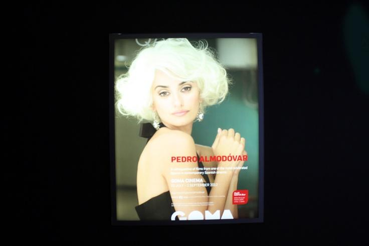 Penelope Cruz, Pedro Almodovar, GoMA