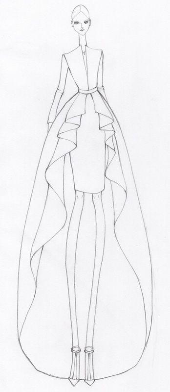 25 best ideas about dress design sketches on pinterest