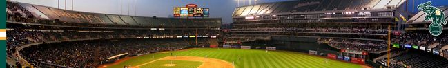 Oakland Athletics Stadium Firefox Theme
