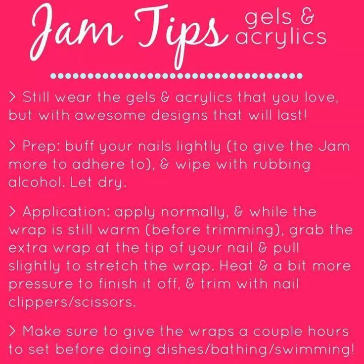 Jamberry isn't just for regular fingernails... They are made to go on to acrylic and gel nails!!! Here are some great tricks if your interested in doing this! If you'd like a free sample to try feel free to let me know :) https://andreasnailwraps89.jamberry.com/