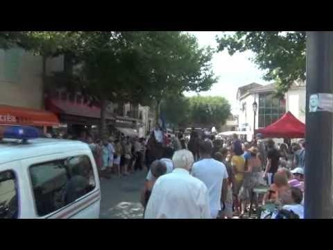 Chateaurenard Fete de la Madeleine Aout 2012 - YouTube