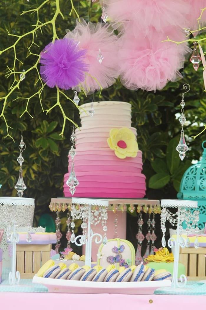 Pastel Butterfly Garden Party with Such Cute Ideas!
