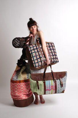 Beatrice Larkin's amazing bags!