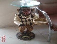 Stand Monkey Statue
