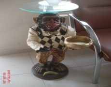 Stand Monkey Statue