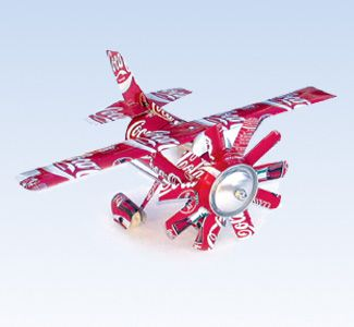 How to make a beer can airplane click right away how to make a beer can airplane #stepbystep