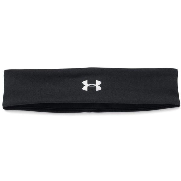 Under Armour Women's UA Studio Performance Headband ($15) ❤ liked on Polyvore featuring accessories, hair accessories, black, head wrap hair accessories, black headwrap, hair bands accessories, wide headbands and wide black headband