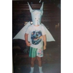 Matt Good from DRUGS KKK Grand Wizard Batman costume, courtesy of Andy Biersack and BryanStars