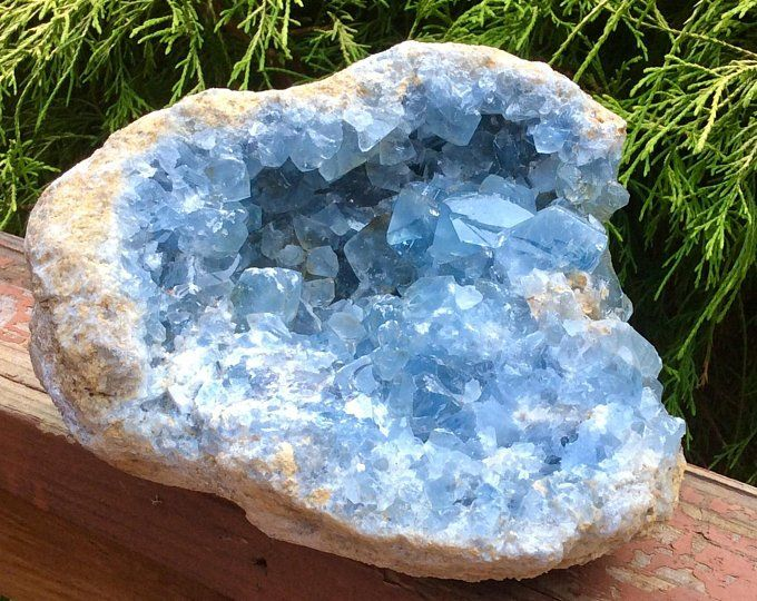 Celestite Baby Blue Crystal Cluster Massive 8 Lbs Madagascar Stunning Gemmy Points Quality Clarity Fast Free Sh Blue Crystals Crystals Hanging Crystals