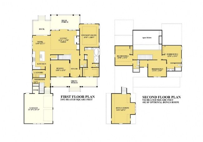 Classic American Stock House Plans | Mint Hill | MintHill