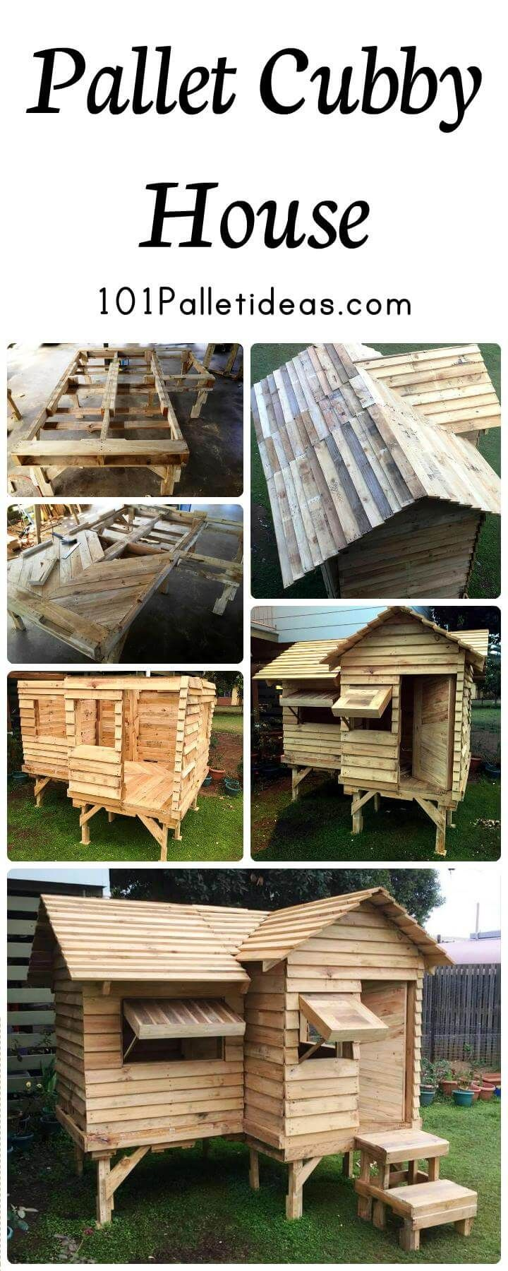 Pallet-Cubby-House-or-Pallet-Playhouse.jpg (720×1800)