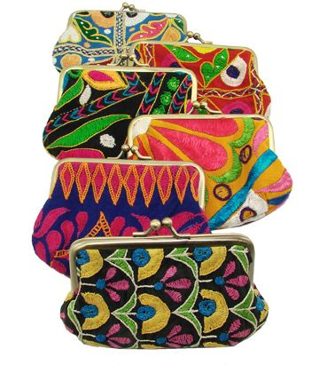 Kutch Embroidered Kisslock Bag                                                                                                                                                     More