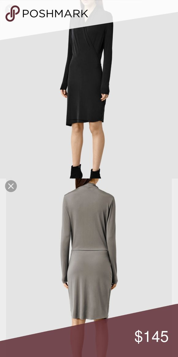 🎱🌊Take dress NWT allsaints 🌊🎱 New with tags allsaints dress. Fitted. Color is black. In sizes XS S M L. Original price $215 open to offers!! All Saints Dresses Midi