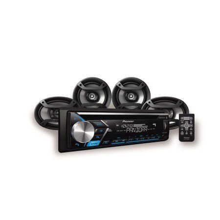 Pioneer 4 Speaker Car Audio System Package with 3 Months of Pandora Premium DXT-S4069BT #Pioneer #Speaker #Audio #System #Package #with #Months #Pandora #Premium